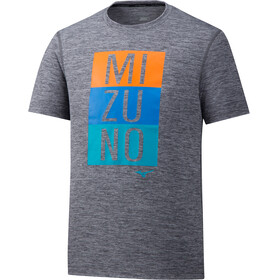Mizuno Impulse Core - Camiseta Running Hombre - gris